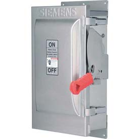 Siemens HF363SSW Safety Switch 100A, 3P, 600V, Fused, HDSS 316Ss 4X W/Window