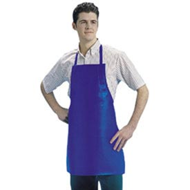 Bib Apron, 25X37, Heavyweight Naugahyde Leather Look, Brown