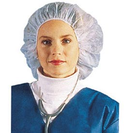 "Bouffant Cap/Hairnet, 24"", White by"