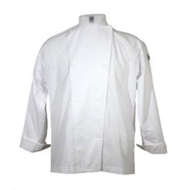 Knife & Steel®Chef'S Jacket, X Large, Cloth Knot, White