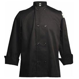 Traditional Chef's Jacket, X Large, Black