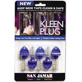 Kleen Plug, Use To Keep Beer Taps Clean Overnight