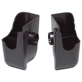 The Dome® Replacement Accessories, Set = (2) snap–on caddies