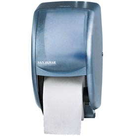 San Jamar Classic Duett Standard Tissue Dispenser Blue R3500TBL by