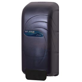 San Jamar® Oceans® 800 ml Soap & Hand Sanitizer Dispenser - Black - S890TBK - Pkg Qty 6