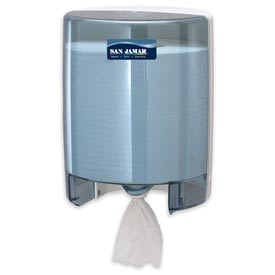 San Jamar® Centerpull Towel Dispenser - Blue - T400TBL