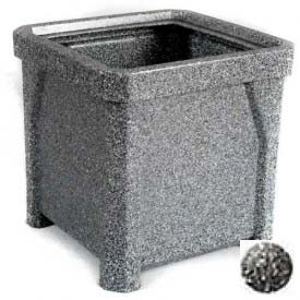 "24"" Outdoor Planter - Gray Granite"