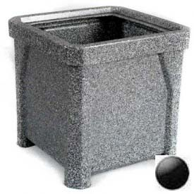 "24"" Outdoor Planter - Black"