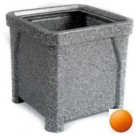 "24"" Outdoor Planter - Orange"
