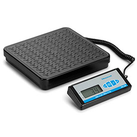 "Brecknell PS150 Bench Digital Scale 150lb x 0.2lb 12-1/4"" x 11-3/4"" Platform by"