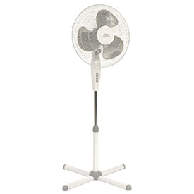 "Lakewood 16"" Oscillating Pedestal Fan LSF1610C-WM - 480CFM"