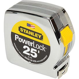 "Stanley 33-425 PowerLock® 1"" x 25' Classic Tape Measure"
