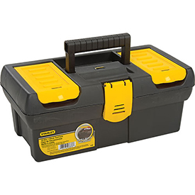 "Stanley STST13011 Series 2000 12-1/2"" Tool Box W/ Plastic Latch"