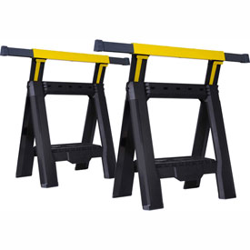 Stanley STST60626 Adjustable Sawhorse (Twin Pack)