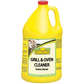 Simoniz Grill & Oven Cleaner Gallon Bottle, 4 Bottles/Case G1380004 by