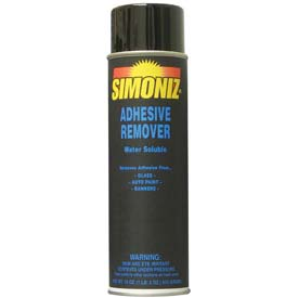 Simoniz Aerosol Adhesive Remover 20 oz. Aerosol Can, Package Count 12 S3365012 by