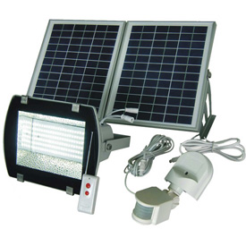 Solar Goes Green Industrial Grade SMD LED Solar Flood Light SGG-156-2R, Surface Mount, Outdoor by