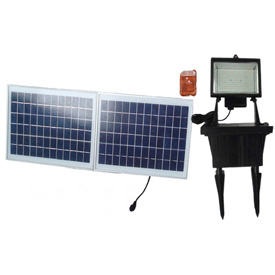 Solar Goes Green Super Bright 156 LED Solar Flood Light SGG-156-3R, Surface Mount, Outdoor by