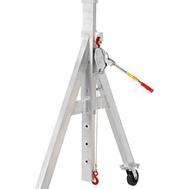 LUG-ALL Winch Hoist, Height Adjustment Kit for Spanco, Adjustable Height, Gantry Cranes 03-015 by