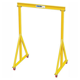 "5 Ton Capacity, Portable, Spanco E-Series, Steel Gantry Crane, 12' Span, Fixed Height 11'-0"" by"