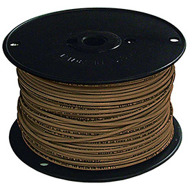 Southwire 27039701 Tffn 16 Gauge Building Wire, Stranded Type, Brown - Pkg Qty 4