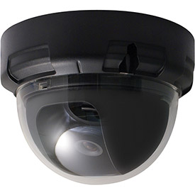 Buy Speco VL644K 1000 TVL Color Indoor Dome Camera, 3.6mm Fixed Lens, Black Housing