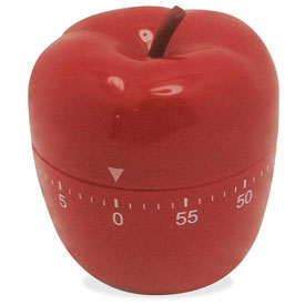 Ashley Apple-Shaped Timer by