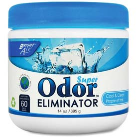 Bright Air Super Odor Eliminator, Cool & Clear 14 oz. Container BRI900090EA by