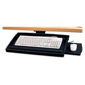 "Compucessory Keyboard Tray, 25004, W/Articulating Arm, 22-1/2"" X 11-3/4"", Putty"
