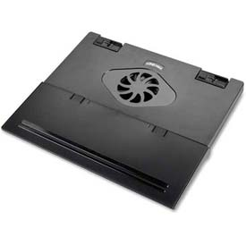 Compucessory 52212 Notebook Cooling Stand with 4 USB Ports, Charcoal