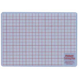 "Chartpak Cutting Mat, WCM812, 8-1/2""L X 12""W, Plastic, White by"