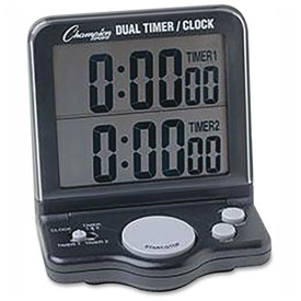 Champion Sports Dual Timer by
