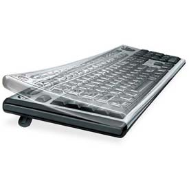 Buy Fellowes 99680 Antimicrobial Custom Keyguard Cover Kit, Clear