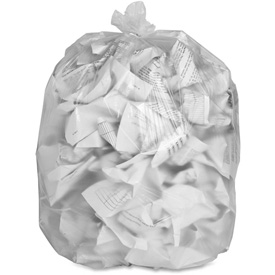 "Genuine Joe High Density Can Liners, 16 Gal, 24""X33"", Clear, 1000/Pk, GJO01756 by"
