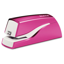 Leitz NeXXt Electric Stapler Pink 55667023 by