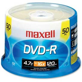 Buy Maxell DVD Recordable Media, MAX638011, DVD-R Media, 16x Speed, 4.70 GB Capcity