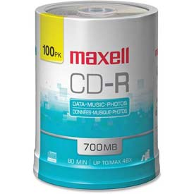 Buy Maxell CD Recordable Media, MAX648200, CD-R Media, 48x Speed, 700 MB Capcity
