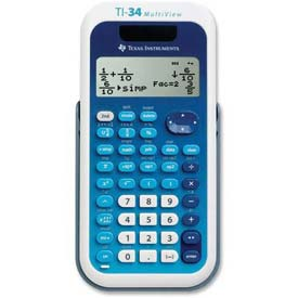 Buy Texas Instruments MultiView Scientific Calculator, TEXTI-34MV, 4 Line Screen, Solar or Battery Power