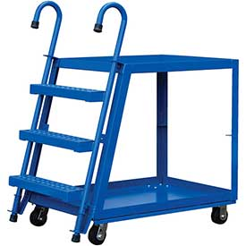 Vestil 3 Shelf Steel Stockpicker Truck SPS3-2848