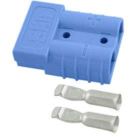 SMH SY Connector SY6326G1 - 1/0 Wire Gauge - 175 Amp - Blue