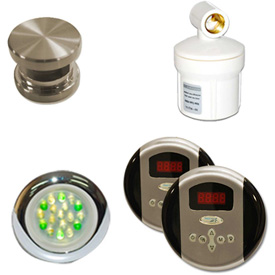 Click here to buy SteamSpa Royal RYPKBN Control Kit, Brushed Nickel.