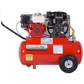 Schrader® Honda Gas Powered Air Compressor SA7520H, Honda Gas Powered, 5.5 HP, 20 Gal.