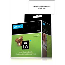 "Click here to buy DYMO LW Shipping Labels 2 1/8"" x 4"" Black on White."