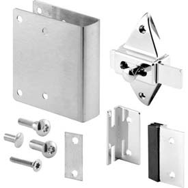 Bathroom Partitions Replacement Hardware Repair Kit For Inswing 1 Doors Square Edge