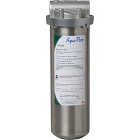 3M Aqua-Pure SST1, One-High Stainless Steel Filter Housing 3/8 NPT Vertical