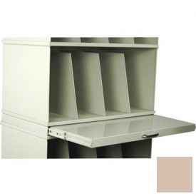 Stackbin® X-Ray Pull-Out Writing Surface, Beige