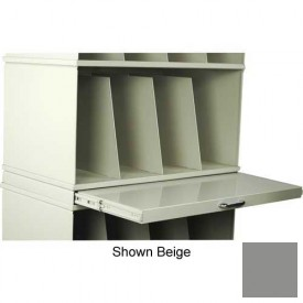 Stackbin® X-Ray Pull-Out Writing Surface, Gray