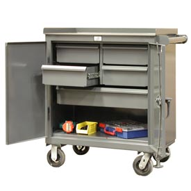 Strong Hold Products 3-TC-240-4/5-1DB Five Drawer Tool Cart