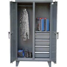 Strong Hold® Heavy Duty Combination Cabinet 35-DSW-181-4DB - 36 x 18 x 66