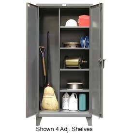 Strong Hold® Heavy Duty Closet Storage Cabinet 55-BC-243 - 60 x 24 x 66